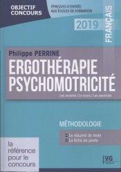 Dernières parutions dans Objectif concours, Ergothérapie, psychomotricité : français 2019