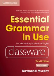 Dernières parutions dans Essential Grammar in Use, Essential Grammar in Use Elementary Level - Classware DVD-ROM with answers