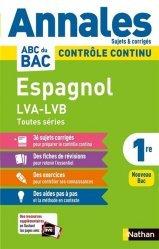 Dernières parutions sur Méthodes de langue (scolaire), Espagnol 1re