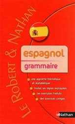 Dernières parutions dans Le Robert et Nathan, Espagnol grammaire