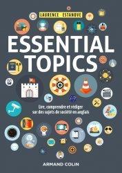 Dernières parutions sur Anglais spécialisé, Essential Topics