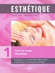 Souvent acheté avec Lexique bilingue de l'esthétique et de la cosmétique, le Esthétique - Tome 1 - Manuel des soins du visage et maquillage