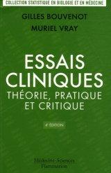 Nouvelle édition Essais cliniques