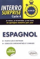 Dernières parutions dans Interro surprise, Espagnol Cycle 4 (5e, 4e, 3e)