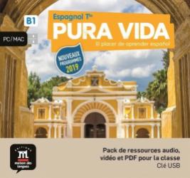 Dernières parutions sur Méthodes de langue (scolaire), Espagnol Tle B1 Pura vida