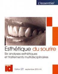 Souvent acheté avec Le guide esthétique, le Esthétique du sourire