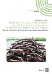 Dernières parutions dans Sciences, Etude de l'effet de la consommation du bois énergie sur la dynamique du peuplement forestier de la mangrove