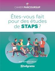 Dernières parutions dans cahier parcoursup, Etes-vous fait pour des études de STAPS ?