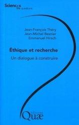 Dernières parutions dans Sciences en questions, Éthique et recherche