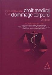 Dernières parutions sur Responsabilité médicale, États généraux du droit médical et du dommage corporel