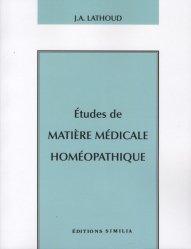 Dernières parutions sur Traités de matière médicale, Etudes de matière médicale homéopathique