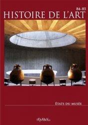 Dernières parutions sur Histoire de l'art, Etats du musée