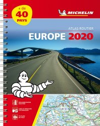 Dernières parutions sur Atlas routiers monde, Europe. Atlas routier et touristique, Edition 2020