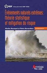 Dernières parutions dans EDF R&D, Événements naturels extrêmes théorie statistique et mitigation du risque Coll. EDF R&D