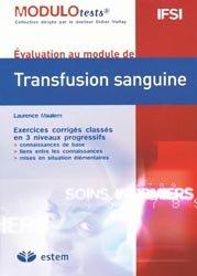 Souvent acheté avec Dermatologie, le Transfusion sanguine