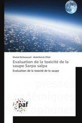 Dernières parutions sur Poissons, Evaluation de la toxicité de la saupe Sarpa salpa