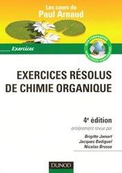 Souvent acheté avec Exercices résolus de chimie physique, le Exercices résolus de Chimie organique