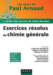 Souvent acheté avec Biostatistique pour les sciences de la vie et de la santé, le Exercices résolus de Chimie générale