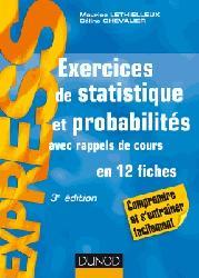 Dernières parutions dans Express, Exercices de statistique et probabilités