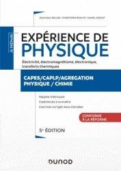 Souvent acheté avec 3 minutes pour comprendre 50 notions fondamentales de la zoologie, le Expériences de physique - Électricité, électromagnétisme, électronique - 5e éd.