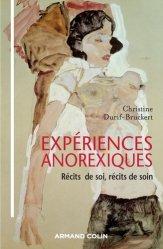 Dernières parutions sur Anorexie - Boulimie, Expériences anorexiques