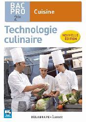 Souvent acheté avec Le bullet agenda de l'étudiante infirmière : 2019-2020, le Extrait Nouveauté Pass'adoptant Technologie culinaire 2de Bac Pro Cuisine (2016) - Pochette élève