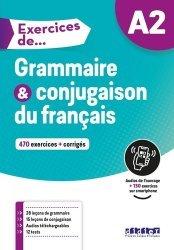 Dernières parutions sur Français Langue Étrangère (FLE), Exercices de Grammaire et conjugaison du français A2
