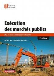 Nouvelle édition Exécution des marchés publics