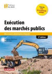 Dernières parutions dans Pratique du droit, Exécution des marchés publics
