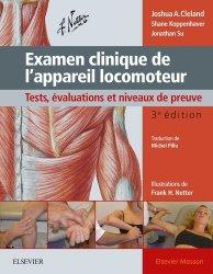 Souvent acheté avec Anatomie médicale Aspects fondamentaux et applications cliniques, le Examen clinique de l'appareil locomoteur