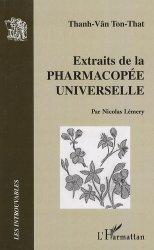 Dernières parutions dans Les Introuvables, Extraits de la pharmacopée universelle