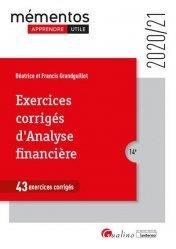 Dernières parutions dans Mémentos LMD, Exercices corrigés d'analyse financière