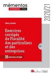 Dernières parutions sur Droit fiscal, Exercices corriges de fiscalité des particuliers et des entreprises. 22e édition