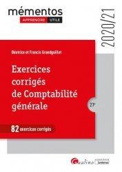 Dernières parutions dans Mémentos LMD, Exercices corrigés de comptabilité générale