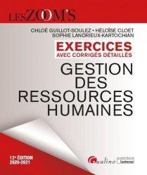 Dernières parutions dans Les Zoom's, Exercices avec corrigés détaillés Gestion des ressources humaines