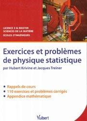 Dernières parutions sur Physique fondamentale, Exercices et problèmes de physique statistique