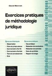 Dernières parutions dans Méthodologie et exercices juridiques, Exercices pratiques de méthodologie juridique