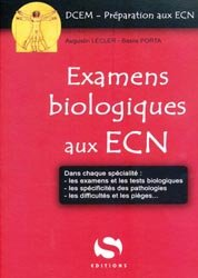 Souvent acheté avec Médicaments pour les ECN, le Examens biologiques aux ECN