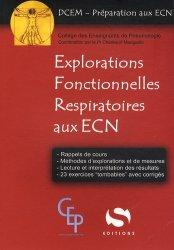 Souvent acheté avec Pneumologie, le Explorations  Fonctionnelles  Respiratoires aux ECN
