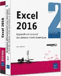 Dernières parutions dans Coffret Bureautique, Excel 2016 Coffret de 2 livres