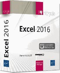 Dernières parutions dans Intégrale, Excel 2016