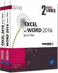 Dernières parutions dans Coffret Bureautique, Excel et Word 2016 pour Mac - Coffret de deux livres