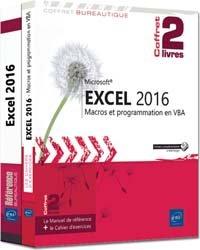 Dernières parutions dans Coffret Bureautique, Excel 2016 - Coffret de 2 livres