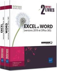Dernières parutions sur Bureautique, Excel et Word (versions 2019 et Office 365)