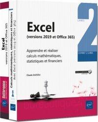 Dernières parutions sur Logiciels de bureautique, Excel (versions 2019 et Office 365)