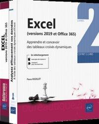 Dernières parutions dans COFFRET BUREAUT, Excel (versions 2019 et Microsoft 365) - Coffret de 2 livres : Apprendre et concevoir des tableaux c