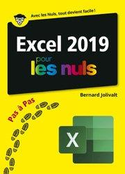 Dernières parutions sur Logiciels de bureautique, Excel 2019 pas à pas pour les nuls