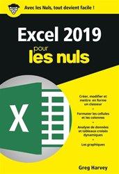 Dernières parutions dans Poche pour les Nuls, Excel 2019
