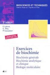 Souvent acheté avec Histologie, le Exercices de Biochimie