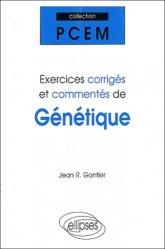 Souvent acheté avec Exercices corrigés et commentés de physiologie, le Exercices corrigés et commentés de Génétique